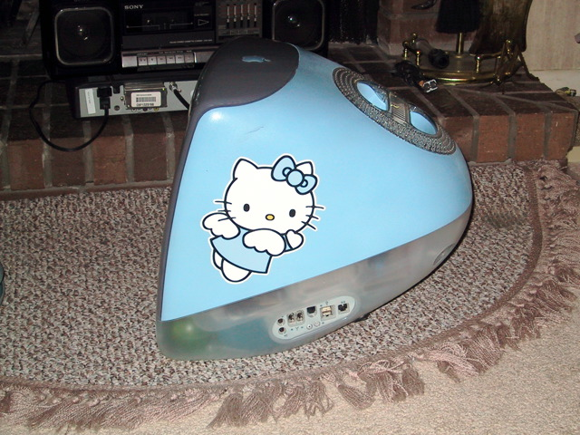Hello Kitty iMac